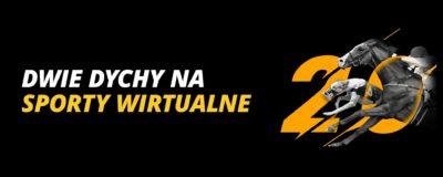 Promocje w LV BET: Dwie dychy na sporty wirtualne