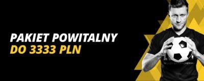 Promocje w LV BET: Pakiet powitalny do 3333 PLN